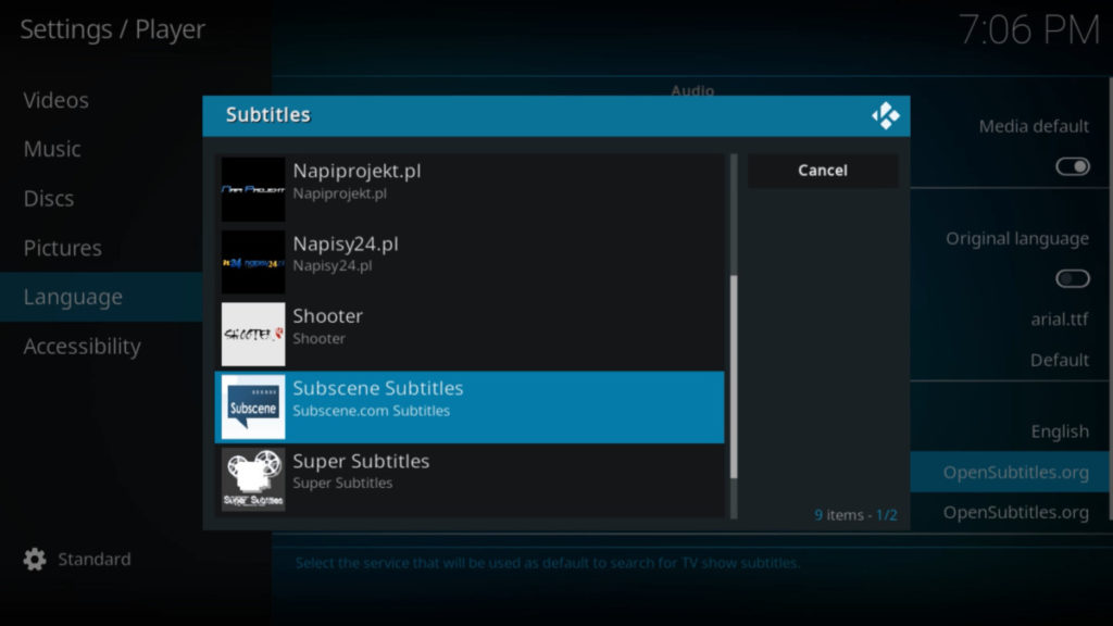 How to get Subtitles for Kodi on Firestick? How to Use OpenSubtitle and Subscene Subtitles? 26