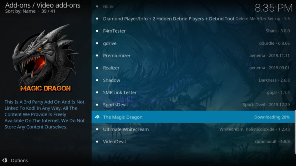 How to Install The Magic Dragon Add-on on Kodi   A Step by Step Guide and much more 26