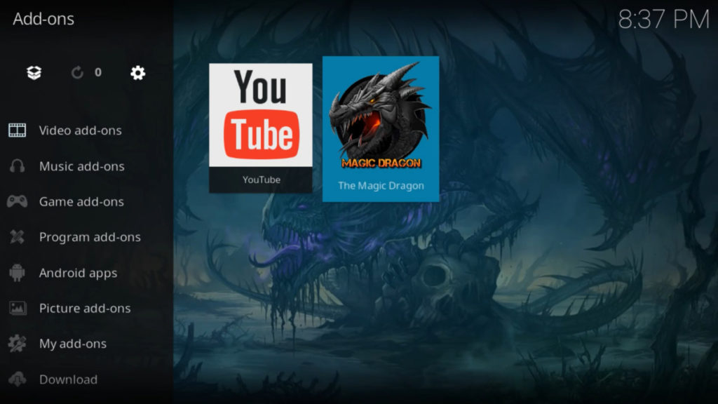 How to Install The Magic Dragon Add-on on Kodi   A Step by Step Guide and much more 29